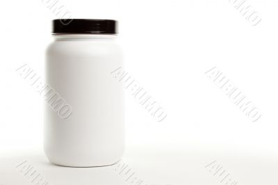 Blank White Canister