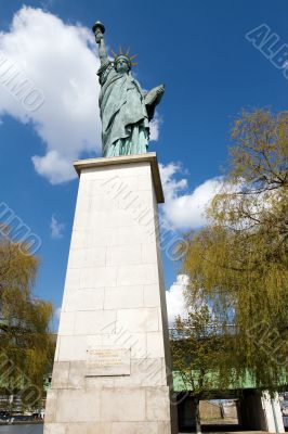 Statue of Liberty in Paris
