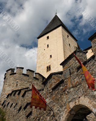 Tower of medieval Mauterndorf castle