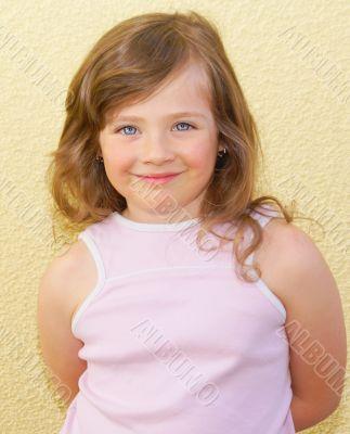 Eye, hair, girl, kid.