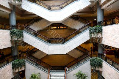 Design of interior stairway