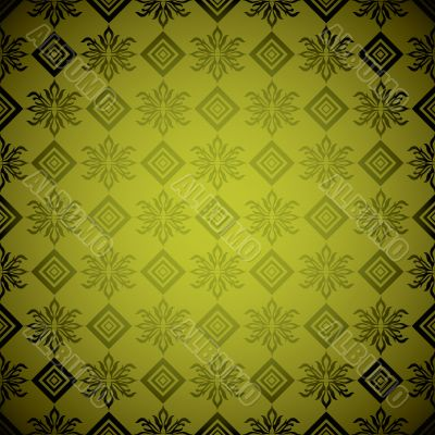 gold square wallpaper