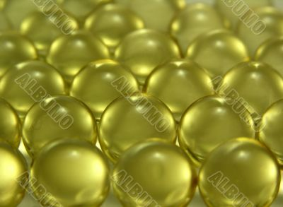 Capsules with a l preparation