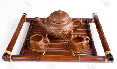 traditional tea service