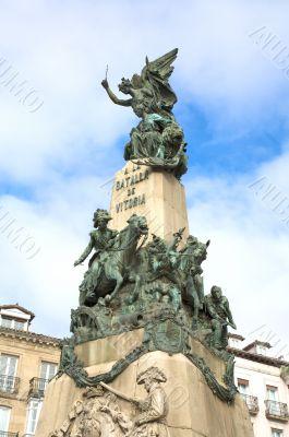 monument to vitoria battle