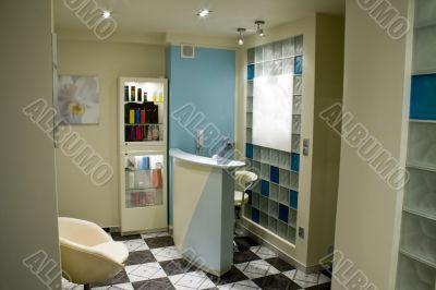 Spa interior - reception