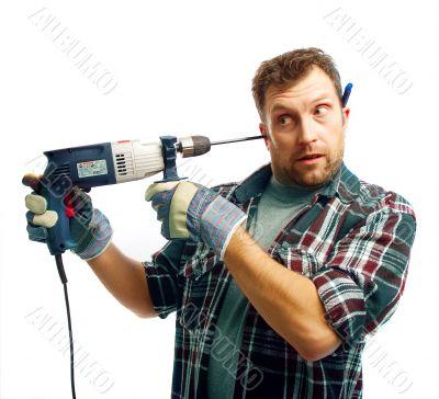 workman boring ear