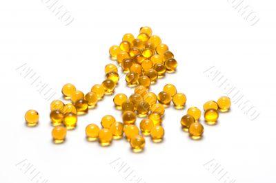Disposit of the capsules cod-liver oil