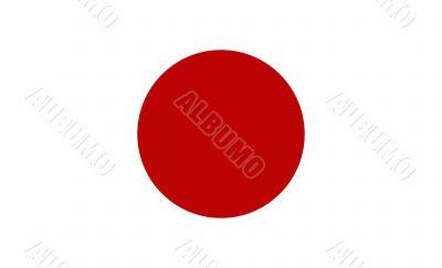 Japan, national flag
