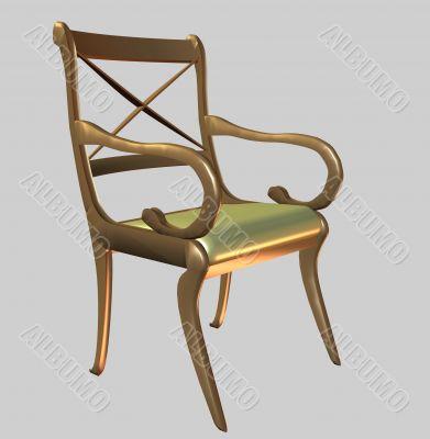 Decorative chair 3D