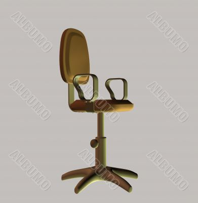 Office armchair for a workplace