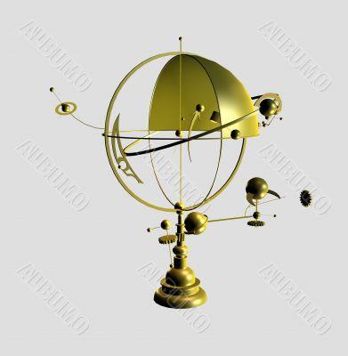 Model of the scientific device