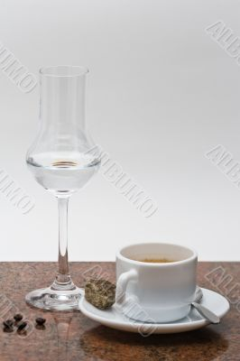 Espresso con Grappa