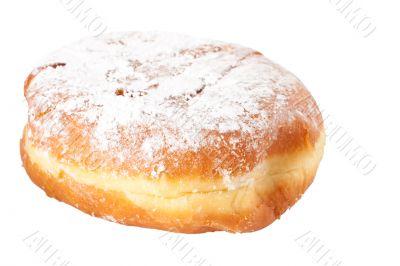 A single sugar covered Paczek