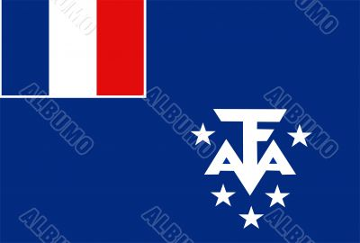 French Southern Territories Flag