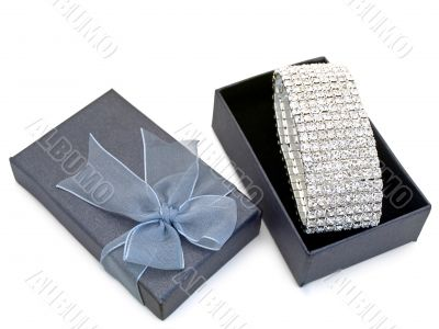 gift box with jewellery