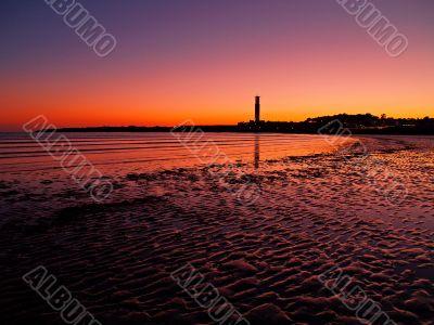 Sunset on Jersey