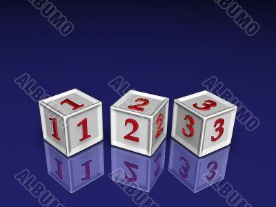 123 3d blockes