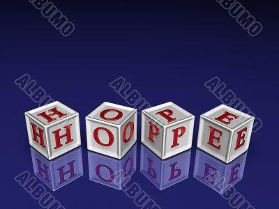 hope 3d blockes