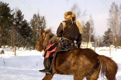 medieval horseman
