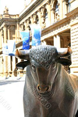 The stock exchange Bull