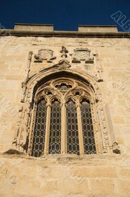ancient glasswork window