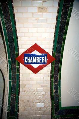 name of station chamberi