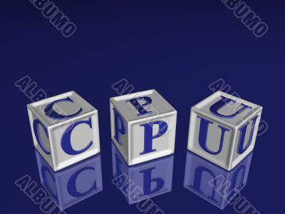 CPU 3d blockes