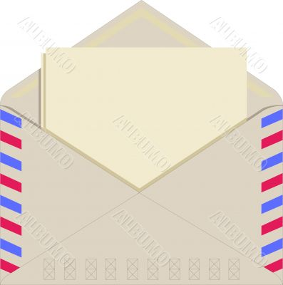 Paper in an envelope