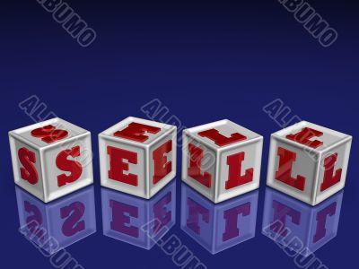SELL 3d blockes