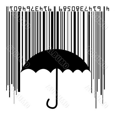 barcode rain