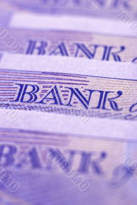 Banknote close-up
