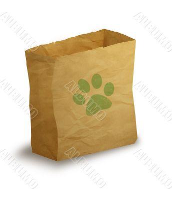Pet paper bag