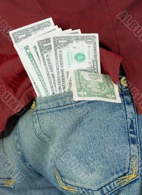 Dollars in hip-pocket