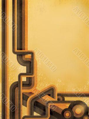 Striped design