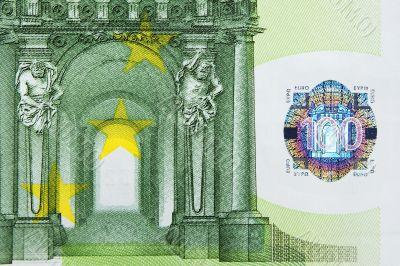 100 Euro Note Macro