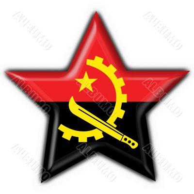 angola button flag star shape