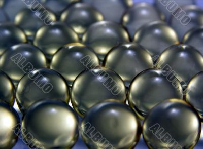 Capsules with a  preparation
