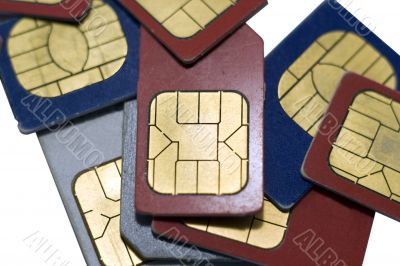 old used sim cards for cell phones