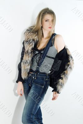 girl beautiful mode style jeans
