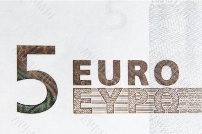 5 Euro Note Macro III