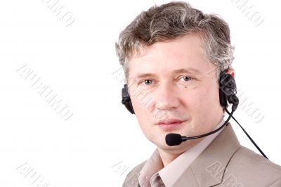 Helpdesk or support operator. how can i help you