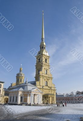 Saints Peter and Paul Fortress - cathedral