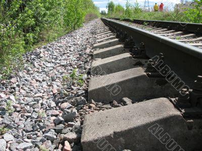 A running away railroad