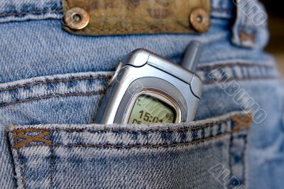 Hip-pocket and phone
