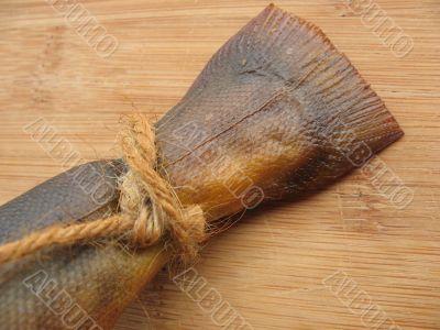 A hot smoked fish