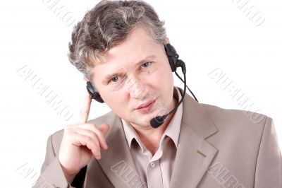 How can i help you. Helpdesk or support operator.