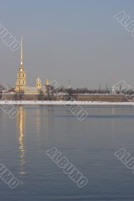 Peter and Paul Fortress. Peter and Paul Cathedral.