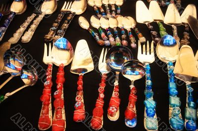 fancy utensils