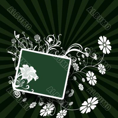 Element for design, frame, illustration